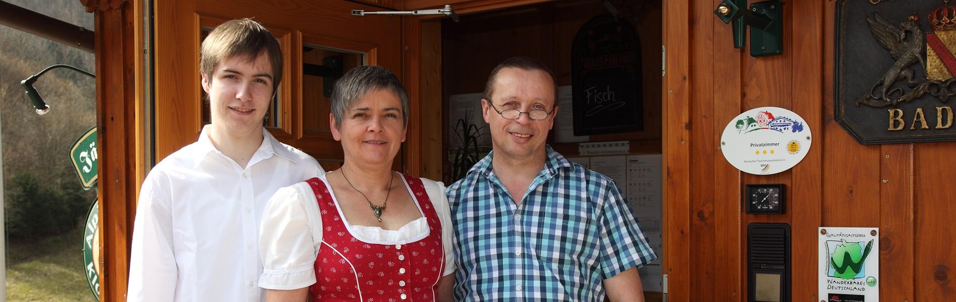 Gastgeber Familie Gasthaus Jägerstüble