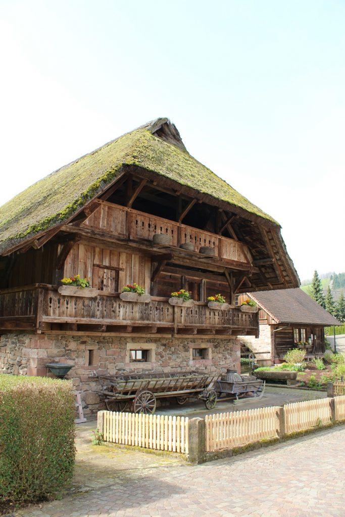 Historischer Speicher Rathausplatz Oberharmersbach