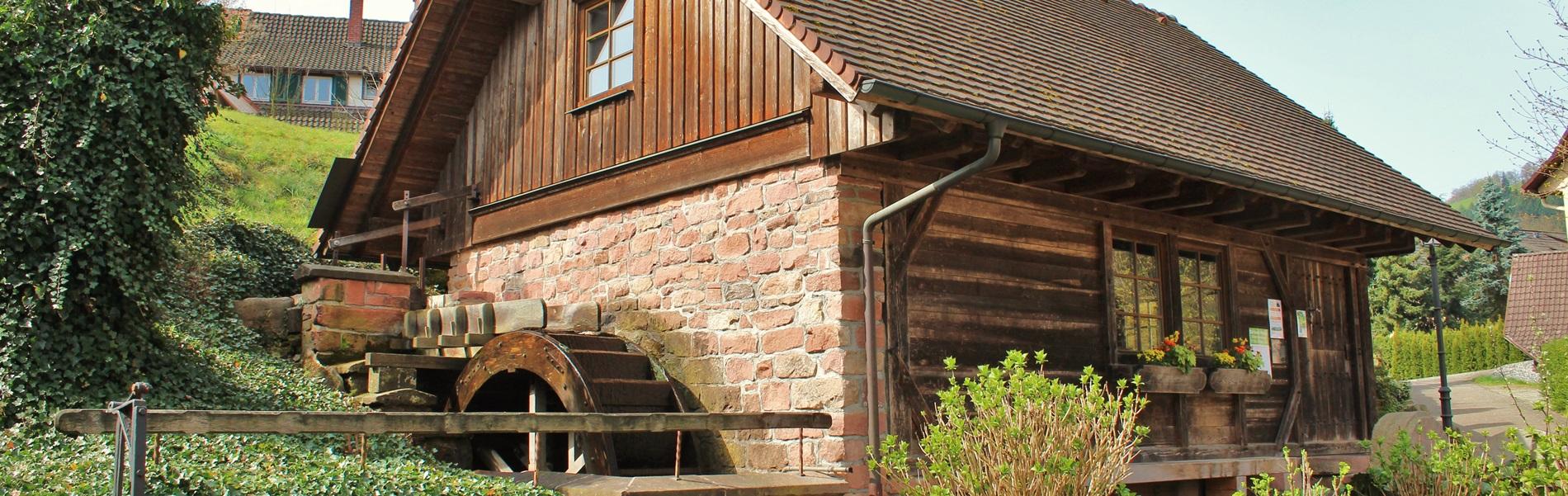 Alte Mühle Rathausplatz Oberharmersbach