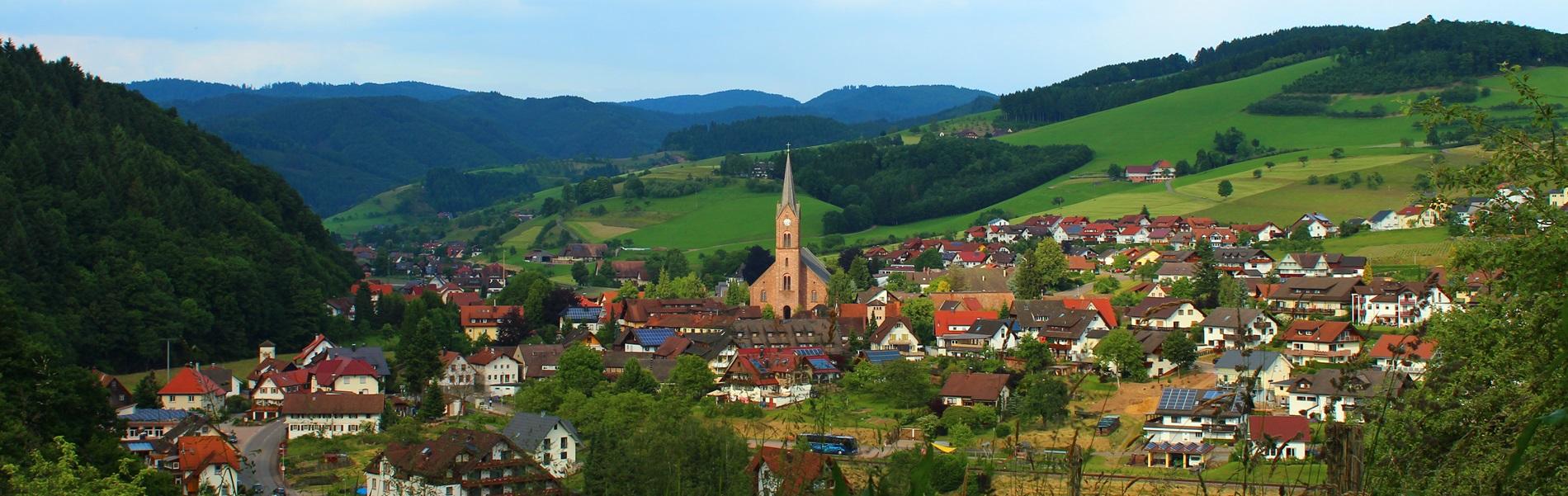 Oberharmersbach Ansicht Dorf