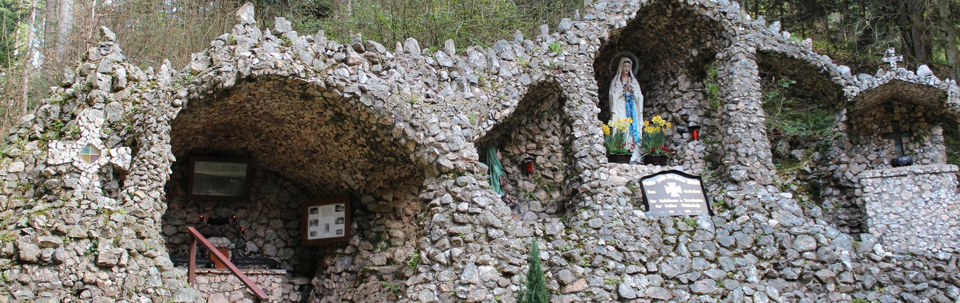 Lourdes Grotte Zuwald Oberharmersbach