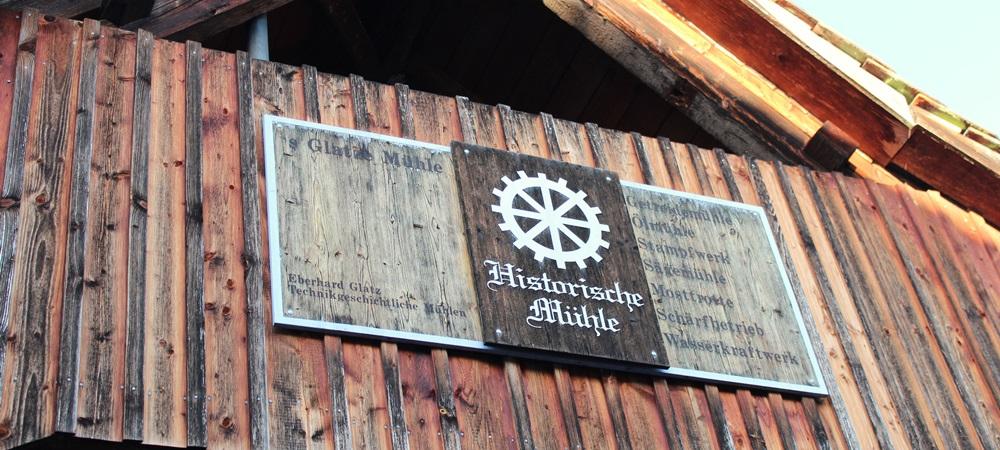 SoDa in Seelbach an der historischen Mühle