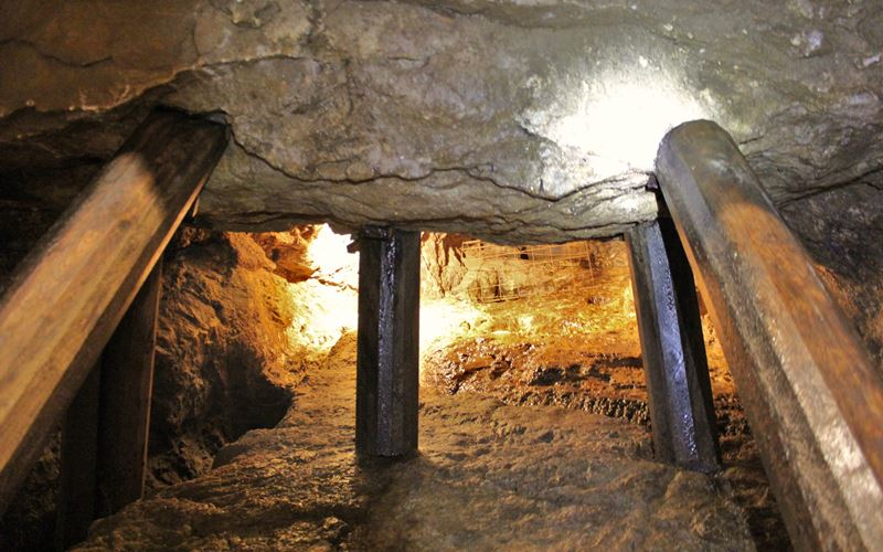 Ursprünglicher Eingang Grube Wenzel