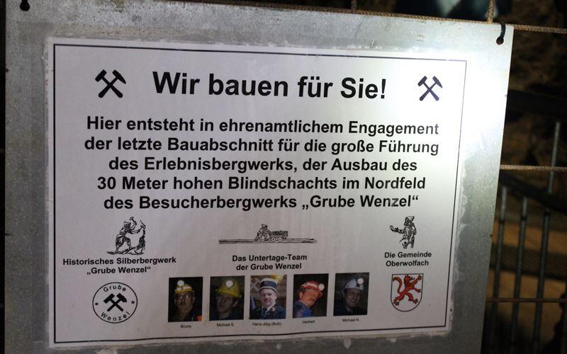 Ehrenamtliche Grube Wenzel Oberwolfach