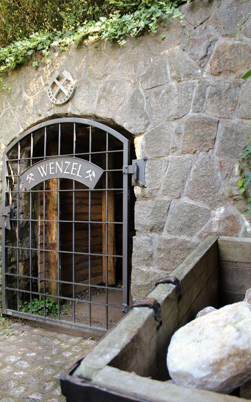 Eingang Grube Wenzel