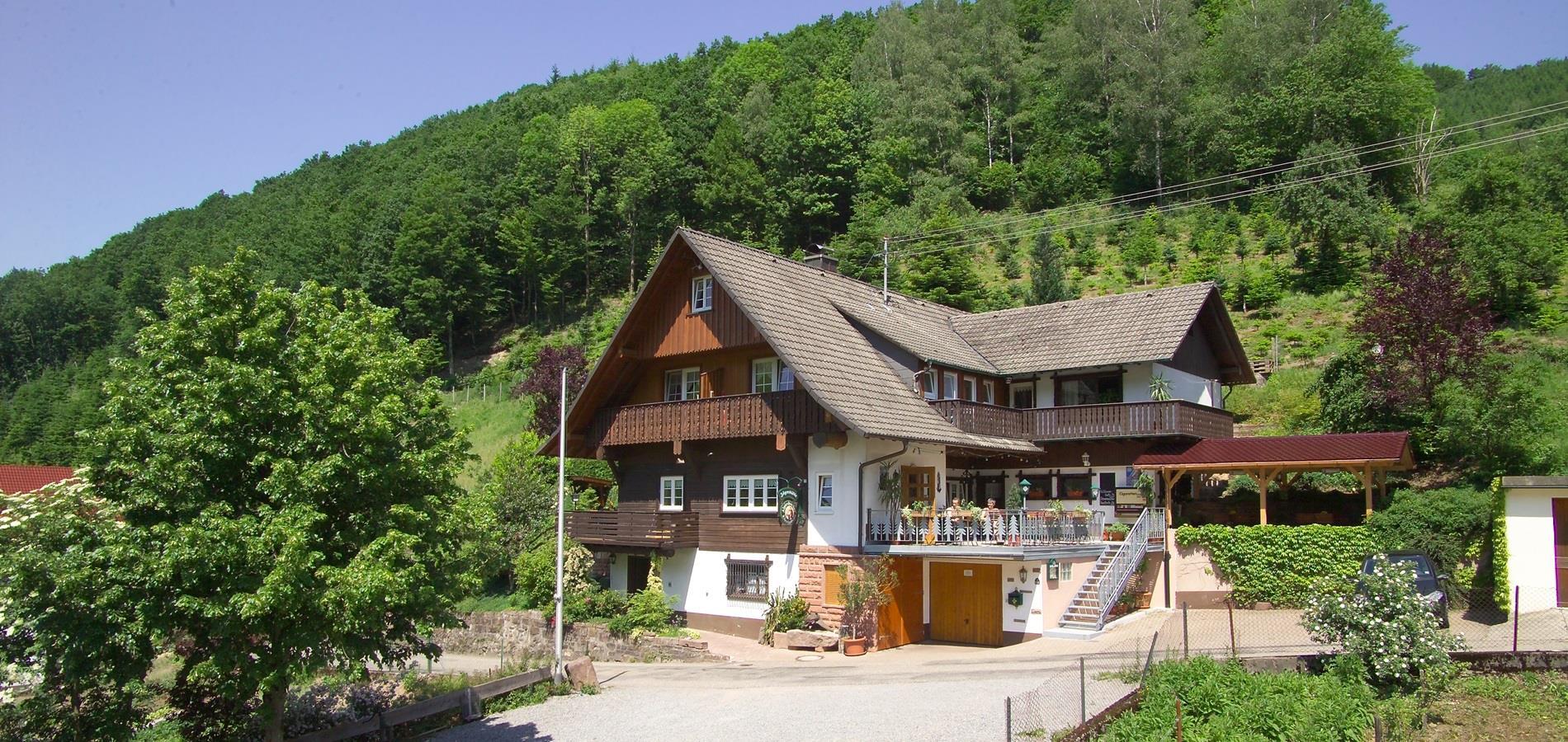 Gasthaus und Pension Jägerstüble Oberharmersbach Schwarzwald