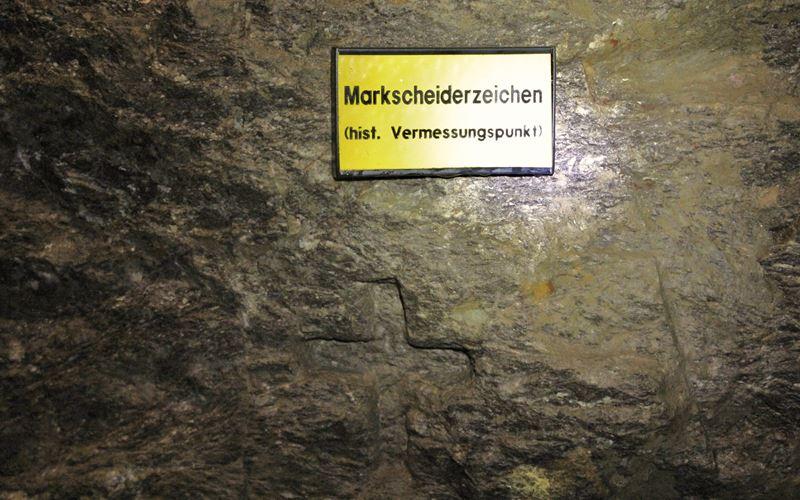 Markscheiderzeichen Grube Wenzel