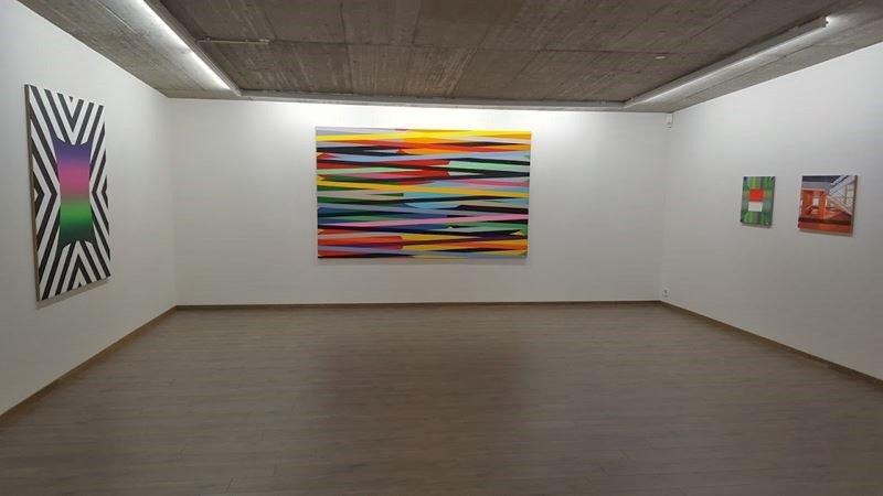 Durchblick auf aktuelle Ausstellung