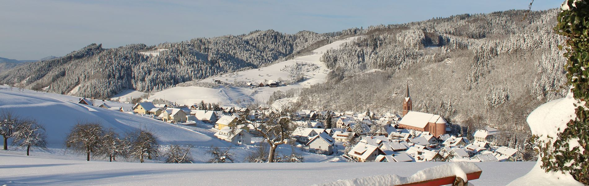 Winter in Oberharmersbach